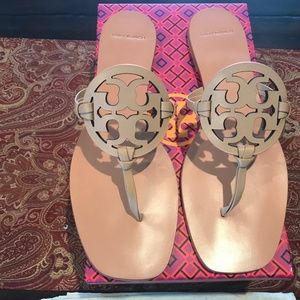 TORY BURCH MILLER Women Square Toe Sandals